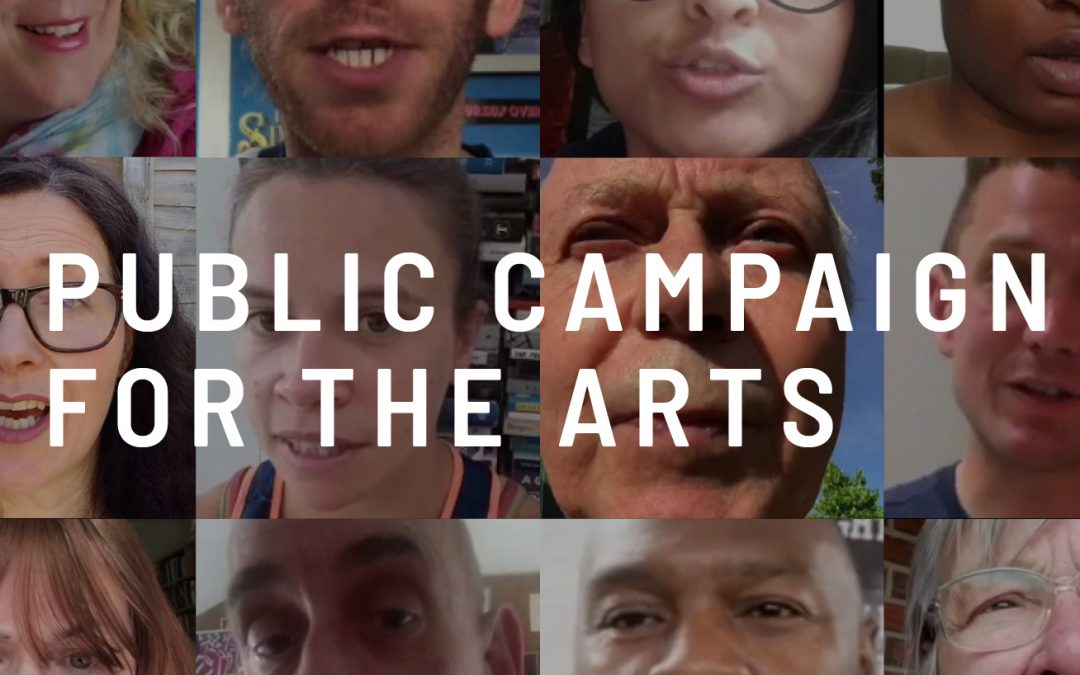 ERT SUPPORT PUBLIC CAMPAIGN FOR THE ARTS