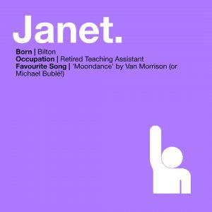 MEET THE VOLUNTEERS… Janet