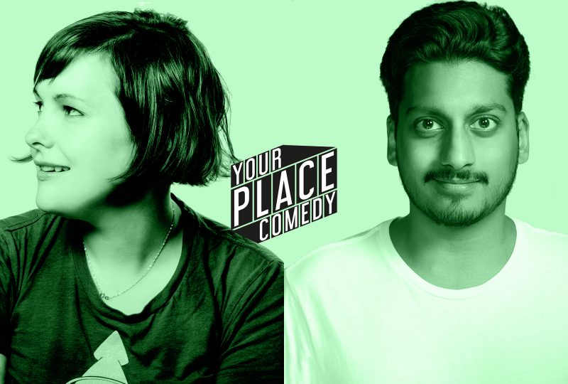 Josie Long & Ahir Shah: Live from their Living Rooms