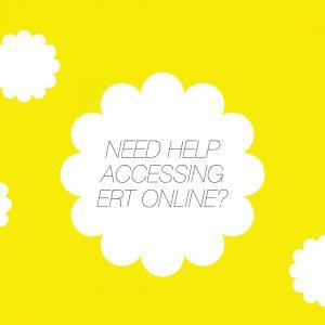 How to Access ERT's online content